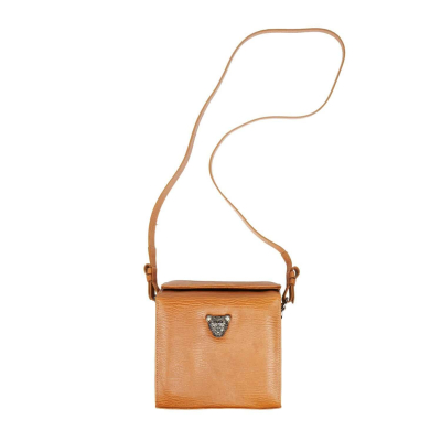 MicroB Tan Brown Boxy Bag