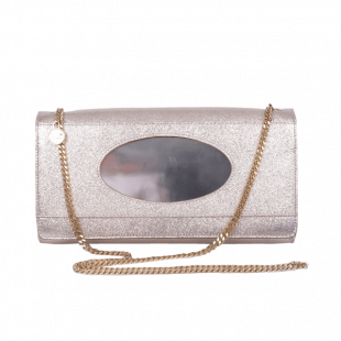 Glitter Gold Leather Bag