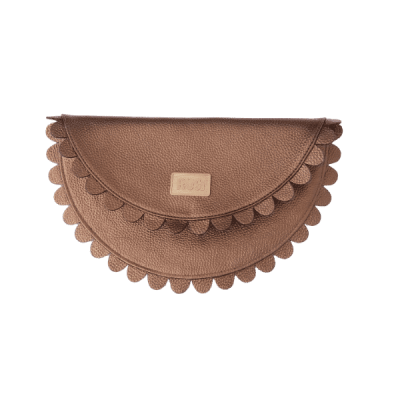 Bronze Gold Clutch Bag
