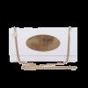 White Eclipse Clutch Bag