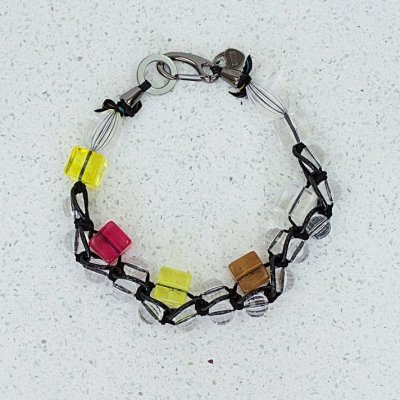 sugar cuber multi col necklace