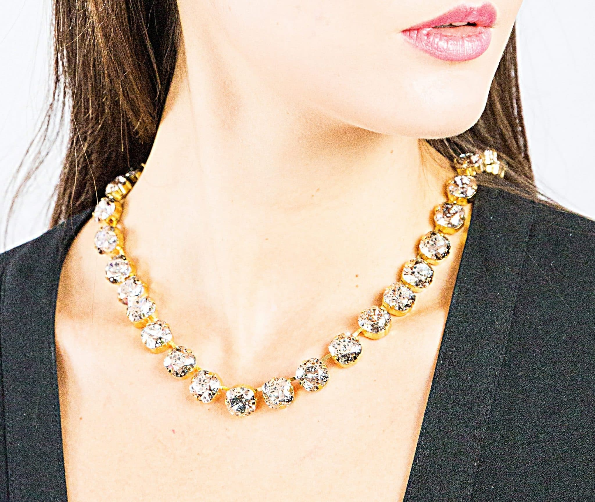 Gold Patina Necklace by RusiDesigns