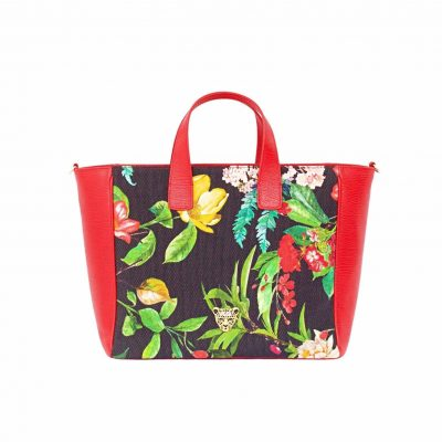 FLOWER G TOTE BAG