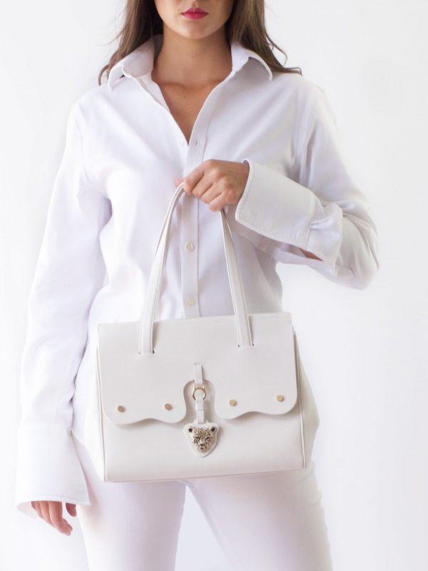 White Fiore Bag