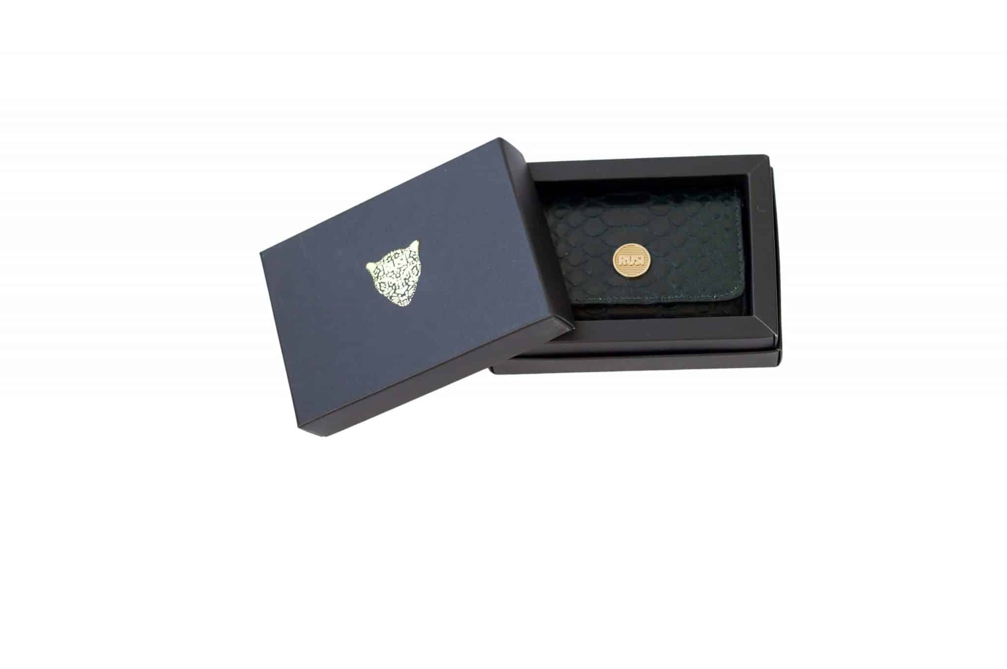 mini wallet dark green boxed scaled