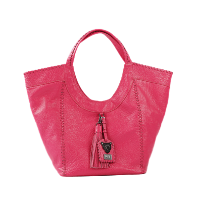 HOT pink hobo bag