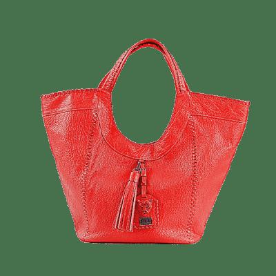 Red Leather Hobo Bag Sara Bag