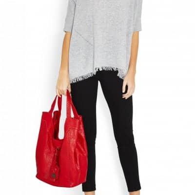 Red Sara Hobo bag
