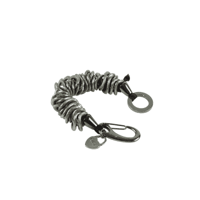 Black caterpillar bracelet 2