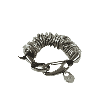 Black Caterpillar Bracelet 1