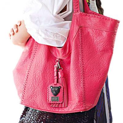 Hot Pink Sara Bag Model