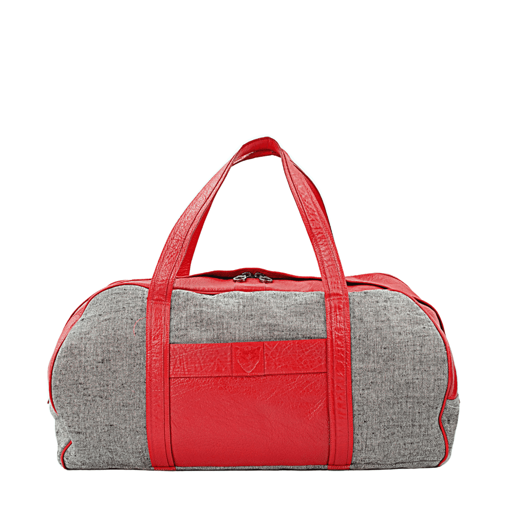 Red Mix Weekend travel Duffel 1