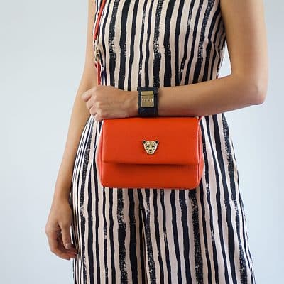 Baby Gemma bag in orange