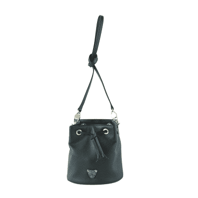 black Bucket Bag 1