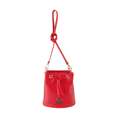 City Bucket - Red Bucket Bag